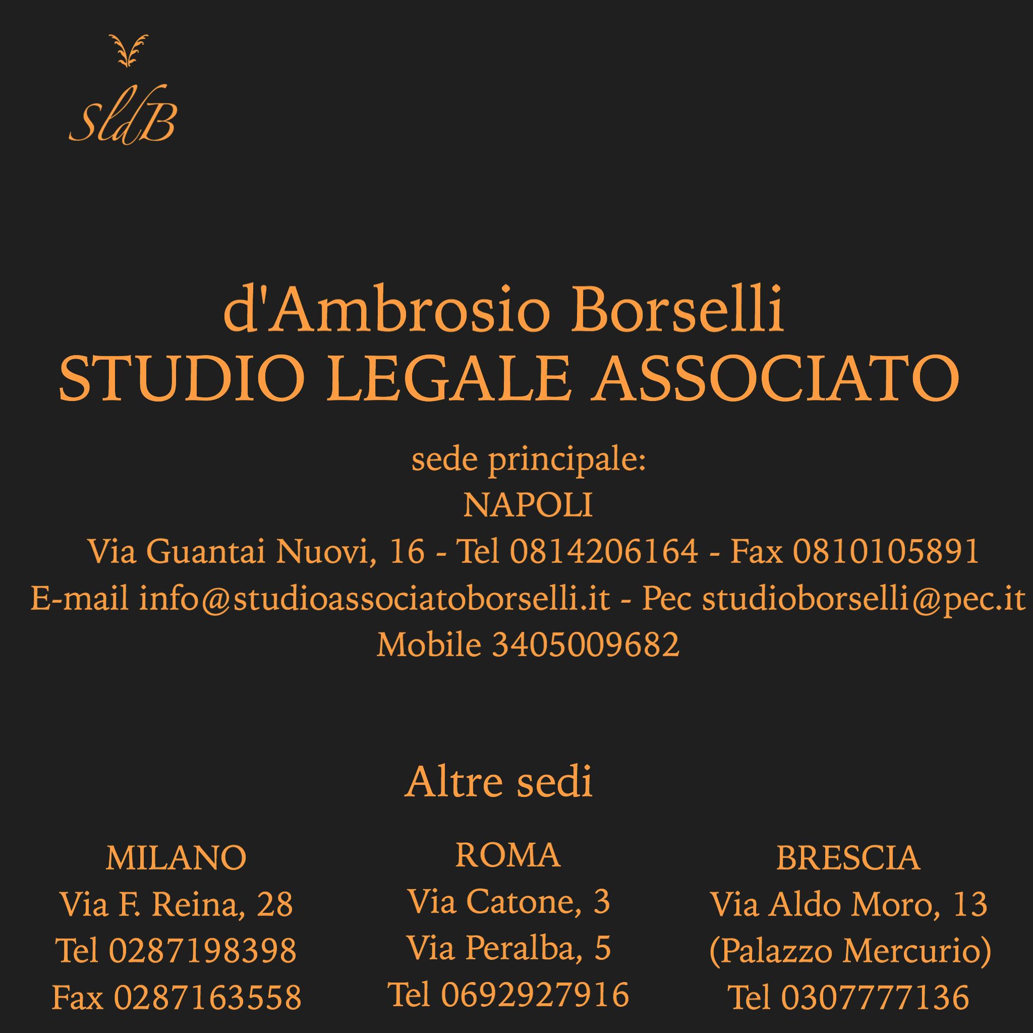 Studio Legale Associato d'Ambrosio Borselli